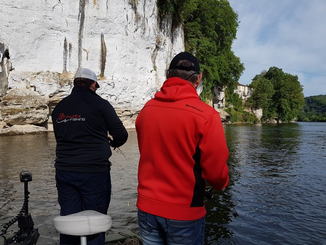 LE TEAM ULTIMATE FISHING SUR LA DORDOGNE